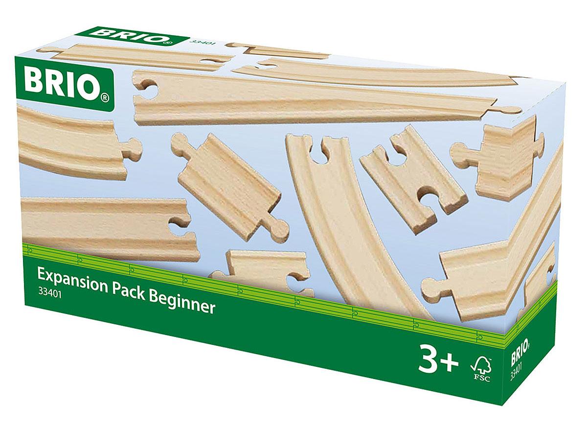 Brio Рельсы базовые33401Игровой набор Рельсы базовые предназначен для машинок и паровозиков Brio. Он включает в себя 11 элементов железной дороги, выполненных из неокрашенного дерева. В наборе имеются короткие, средние, длинные и закругленные рельсы. Железные дороги позволяют ребенку не только получать удовольствие от игры, но и развивать пространственное воображение, мелкую моторику и координацию движений. Набор совместим со всеми железными дорогами и паровозиками Brio. Ваш малыш часами будет играть с набором, придумывая разные истории. Машинки и паровозики в комплект не входят.