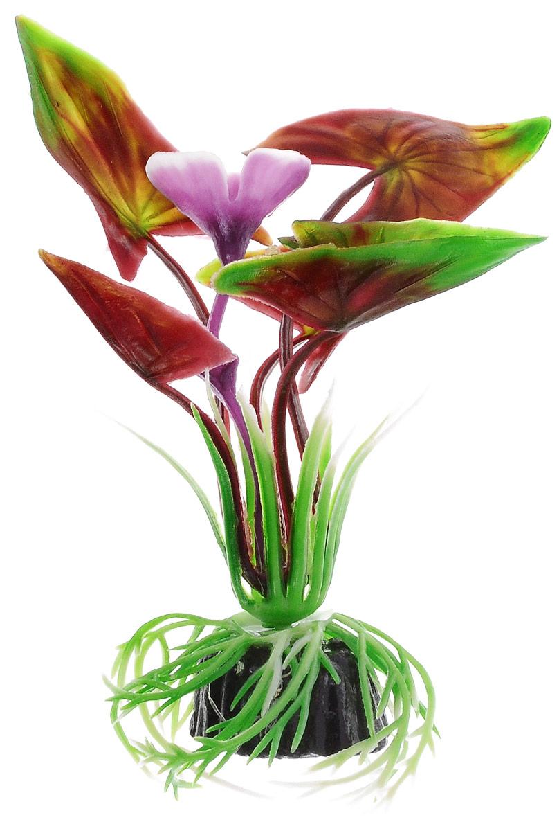 Растение для аквариума Barbus Водная Калла, пластиковое, высота 10 смPlant 008/10Растение Barbus Водная Калла, выполненное из высококачественного нетоксичного пластика, станет прекрасным украшением вашего аквариума. Пластиковое растение идеально подходит для дизайна всех видов аквариумов. В воде происходит абсолютная имитация живых растений. Изделие не требует дополнительного ухода. Оно абсолютно безопасно, нейтрально к водному балансу, устойчиво к истиранию краски, подходит как для пресноводного, так и для морского аквариума. Растение для аквариума Barbus Водная Калла поможет вам смоделировать потрясающий пейзаж на дне вашего аквариума. Высота растения: 10 см.