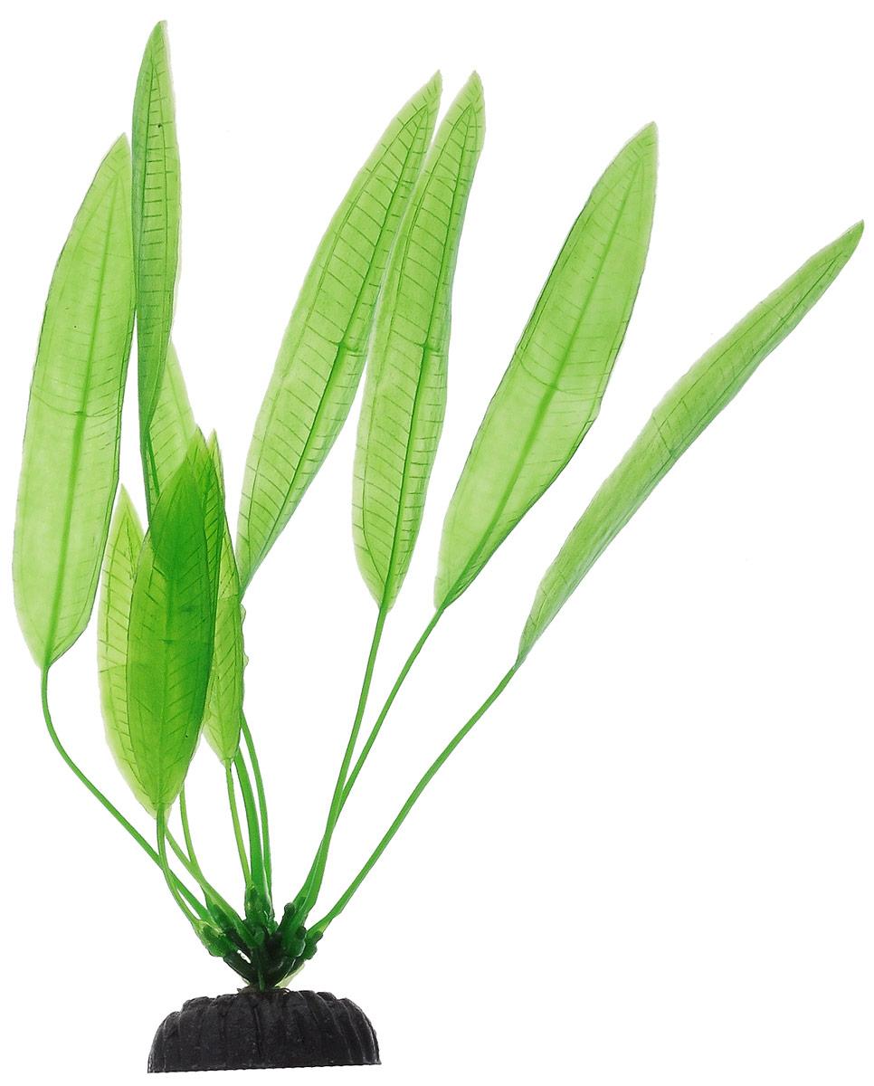 Растение для аквариума Barbus Эхинодорус амазонский, пластиковое, высота 20 смPlant 009/20Растение Barbus Эхинодорус амазонский, выполненное из высококачественного нетоксичного пластика, станет прекрасным украшением вашего аквариума. Пластиковое растение идеально подходит для дизайна всех видов аквариумов. В воде происходит абсолютная имитация живых растений. Изделие не требует дополнительного ухода. Оно абсолютно безопасно, нейтрально к водному балансу, устойчиво к истиранию краски, подходит как для пресноводного, так и для морского аквариума. Растение для аквариума Barbus Эхинодорус амазонский поможет вам смоделировать потрясающий пейзаж на дне вашего аквариума. Высота растения: 20 см.