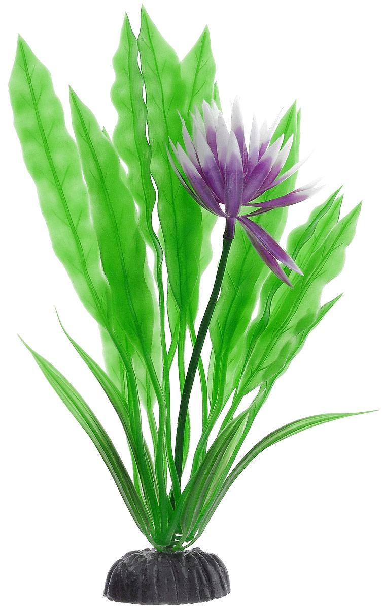Растение для аквариума Barbus Апоногетон курчавый, пластиковое, высота 20 смPlant 029/20Растение Barbus Апоногетон курчавый, выполненное из высококачественного нетоксичного пластика, станет оригинальным украшением вашего аквариума. Пластиковое растение идеально подходит для дизайна всех видов аквариумов. В воде происходит абсолютная имитация живых растений. Изделие не требует дополнительного ухода. Растение абсолютно безопасно, нейтрально к водному балансу, устойчиво к истиранию краски, подходит как для пресноводного, так и для морского аквариума. Растение для аквариума Barbus Апоногетон курчавый поможет вам смоделировать потрясающий пейзаж на дне вашего аквариума. Высота растения: 20 см.