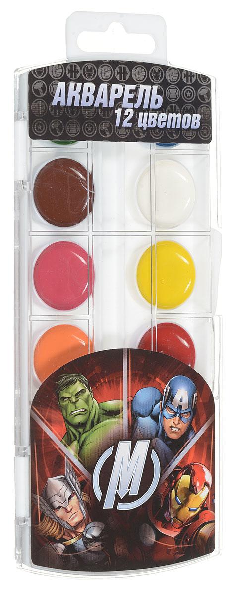 Marvel Акварель Мстители 12 цветов