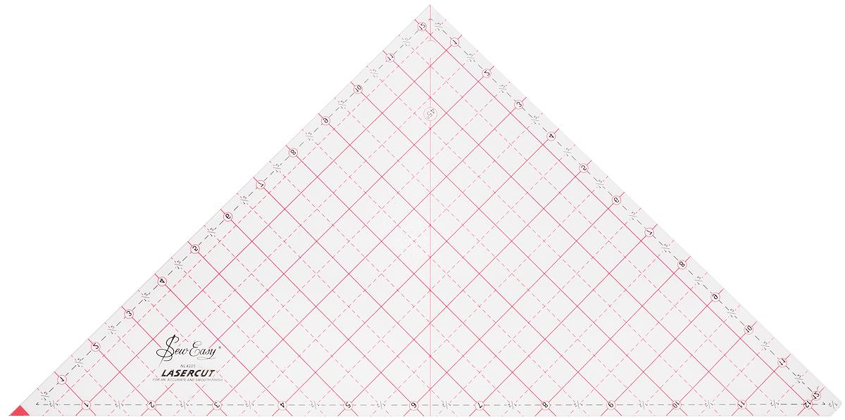 Линейка - треугольник Hemline Sew Easy, 12 1/2 x 12 7/8. NL4205NL4205Позволяет выкроить треугольники размером от 0,5 дюйма до 12,5 дюйма. Широкое и прочное. Жирный шрифт с четкими и легкими для прочтения линиями. Идеально для работы с дисковыми ножами. С нанесенным припуском 1,4 дюйма.