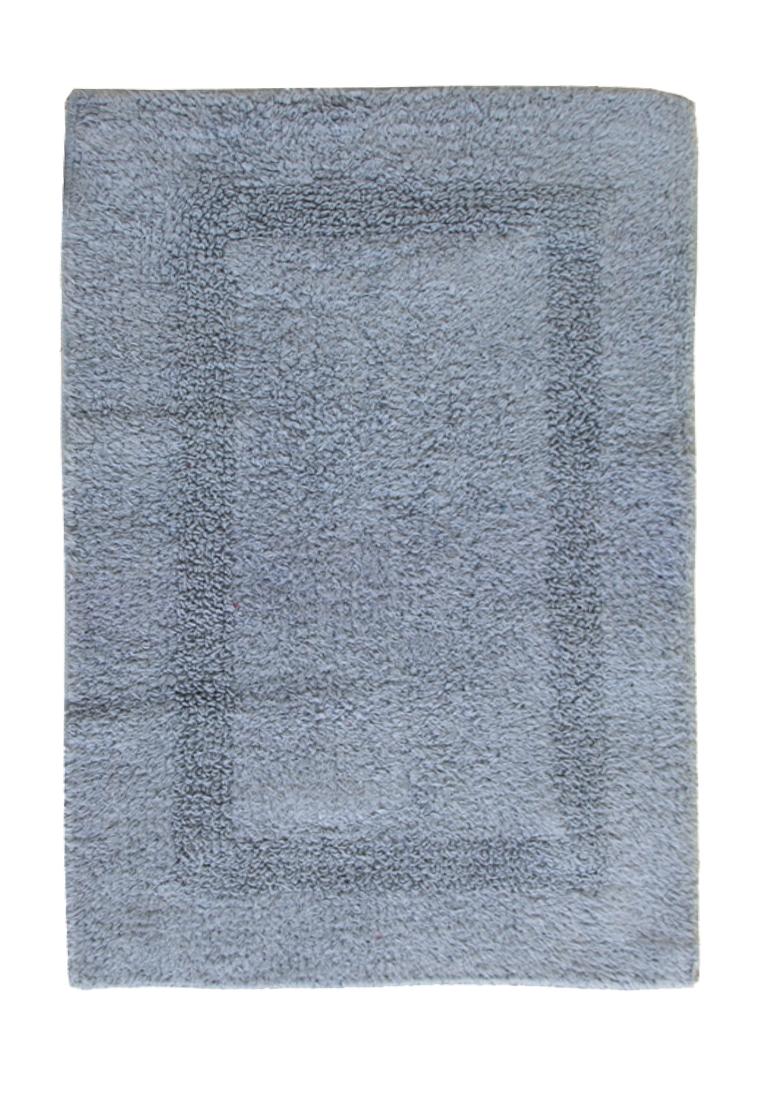 Коврик для ванной Arloni, двухсторонний, цвет: голубой, 42,5x60 см80-0010-0000Коврик, 100% хлопок, 2-х сторонний