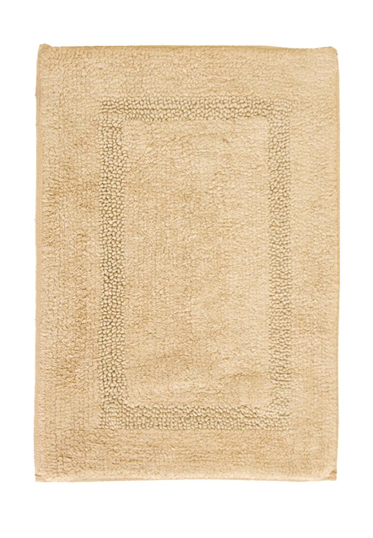 Коврик для ванной Arloni, двухсторонний, цвет: бежевый, 50x75 см80-0018-0000Коврик, 100% хлопок, 2-х сторонний