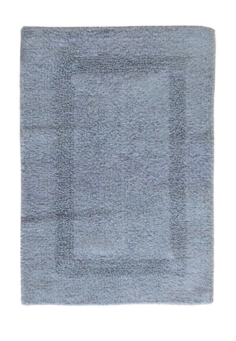 Коврик для ванной Arloni, двухсторонний, цвет: голубой, 50x75 см80-0019-0000Коврик, 100% хлопок, 2-х сторонний