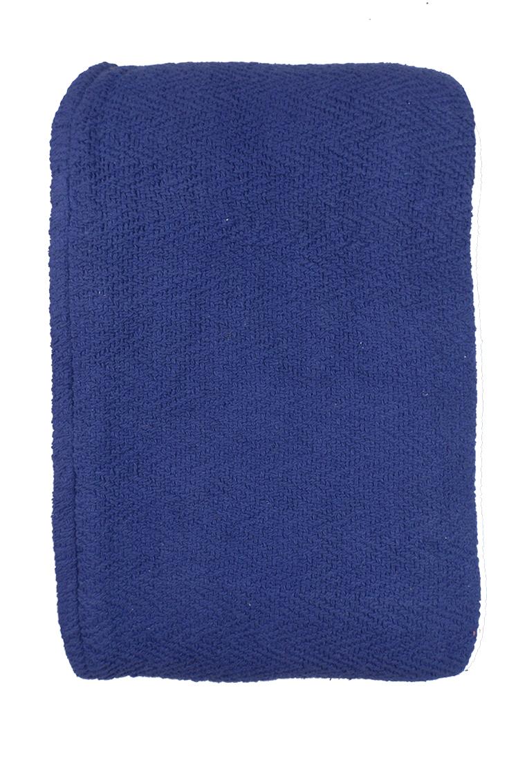 Покрывало Arloni, цвет: темно-синий, 170 х 225 см. 82-100382-1003Покрывало Тёмно-синее, 100% хлопок, 170х225