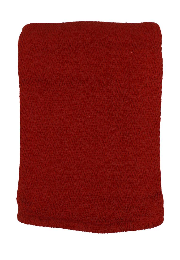 Покрывало Arloni, цвет: красный, 170 х 225 см. 82-100782-1007Покрывало Красное, 100% хлопок, 170х225