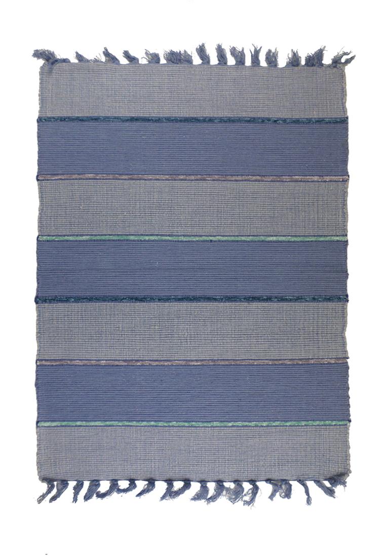 Коврик прикроватный Arloni, самотканный, цвет: серо-фиолетовый, 60х90 см704/9Коврик напольный х/б 60*90см