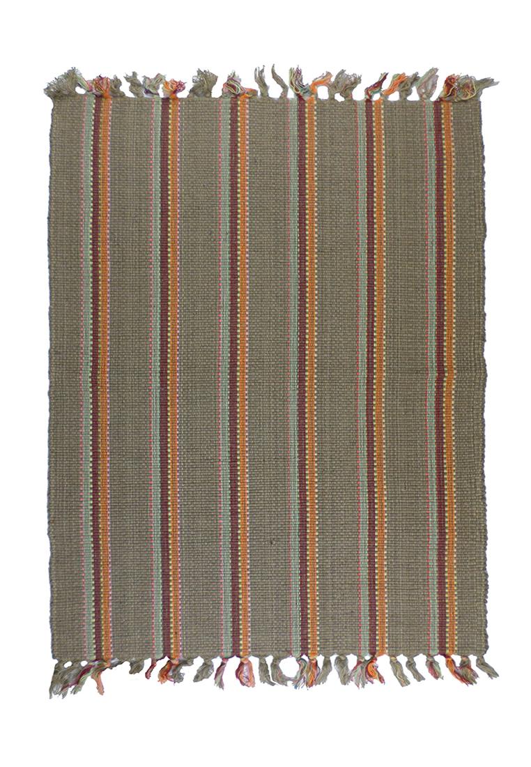 Коврик прикроватный Arloni, цвет: коричневый, 60х90 см. 250/198/2250/198/2Коврик напольный х/б 60*90см
