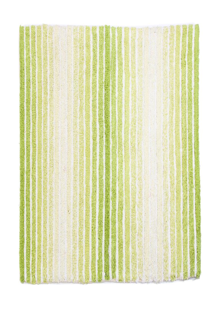 Коврик для ванной Arloni, самотканный, цвет: салатовый, 50х80 см50/80/118Коврик самоткан х/б 50*80