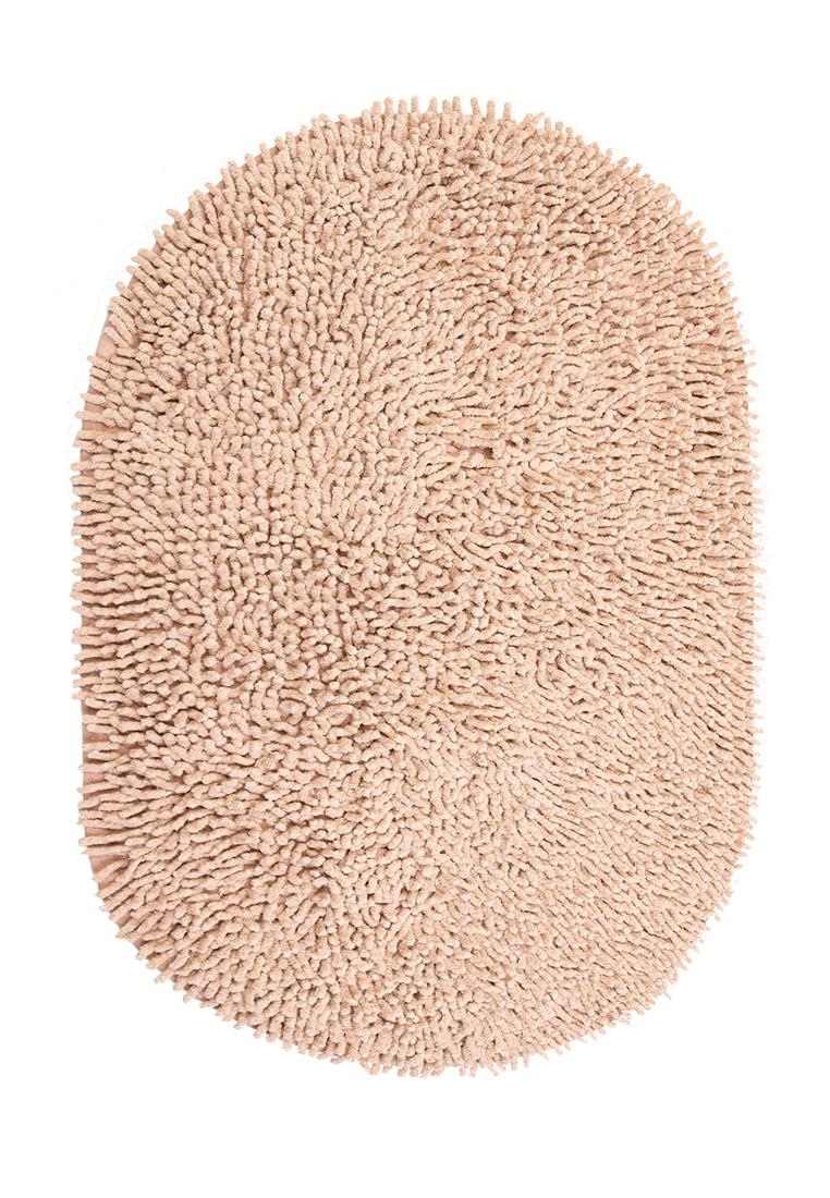 Коврик для ванной Arloni, самотканный, цвет: светло-коричневый, 50х80 см50/80/115Коврик самоткан х/б 50*80