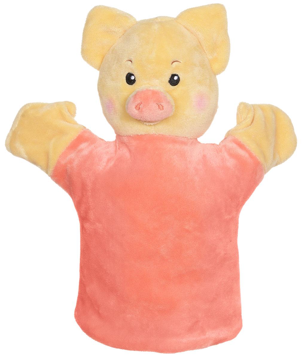 Спокойной ночи, малыши! Кукла на руку Хрюша2098229_5Замечательная кукла на руку Спокойной ночи, малыши! Хрюша изображена в виде героя популярной передачи для детишек. Теперь ваш ребенок сможет устроить эфир телепередачи у себя дома. С веселой Каркушей, непоседливым Хрюшей, робким Степашкой, хитрым Мишуткой и добрым Филей можно придумать большое количество новых интересных историй. Всеми актерами будет руководить ваш юный режиссер! Такая игрушка поможет развить воображение, а возможно, сможет раскрыть новый талант.
