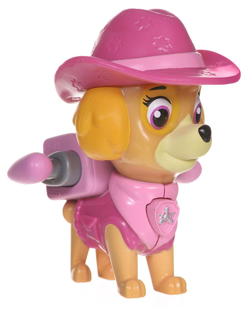 Paw Patrol Фигурка Cowgirl Skye16655_20070721Фигурка Paw Patrol Cowgirl Skye в ковбойской шляпе для маленьких поклонников мультсериала Щенячий патруль. Фигурка выполнена из прочного высококачественного пластика. При нажатии на кнопку, расположенную на груди Скай, активируются крылья, и она может патрулировать город с воздуха. Ваш малыш увлеченно будет играть с этой очаровательной фигуркой, разыгрывая сценки из мультфильма, или придумывая собственные истории.