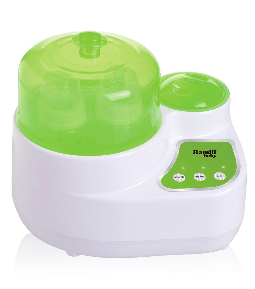 Ramili Стерилизатор-подогреватель бутылочек и детского питания BSS250 3 в 1 универсальный