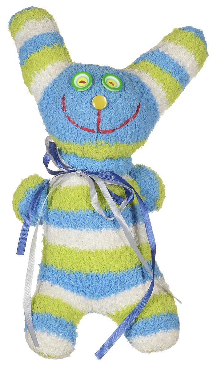 Авторская игрушка - носуля YusliQ Заяц. Ручная работа. kuri37kuri37Авторская игрушка-носуля Заяц из серии Тотем - яркая игрушка, искрящаяся позитивом и отличным настроением, станет необычным и прекрасным сюрпризом для друзей и знакомых! Очаровательный заяц, выполненный вручную из трикотажного материала, не оставит вас равнодушными и обязательно вызовет улыбку. Эта милая и симпатичная игрушка покорит сердца детей и взрослых и послужит замечательным подарком! Заяц - не только замечательный сувенир ручной работы и великолепная идея для подарка, но и яркое интерьерное украшение. Такая игрушка поможет создать в доме атмосферу уюта, тепла, творчества и отличного настроения!