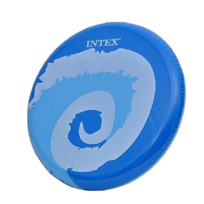 Intex Летающий диск Кидай и крути цвет синийс59501Летающий диск Intex Кидай и крути, выполненный из ПВХ, предназначен для игры на свежем воздухе. Он поможет вам и вашему ребенку весело и с пользой для здоровья провести время. Летающий диск способен поднять настроение всем! Каждый ребенок будет рад такому яркому и спортивному подарку.
