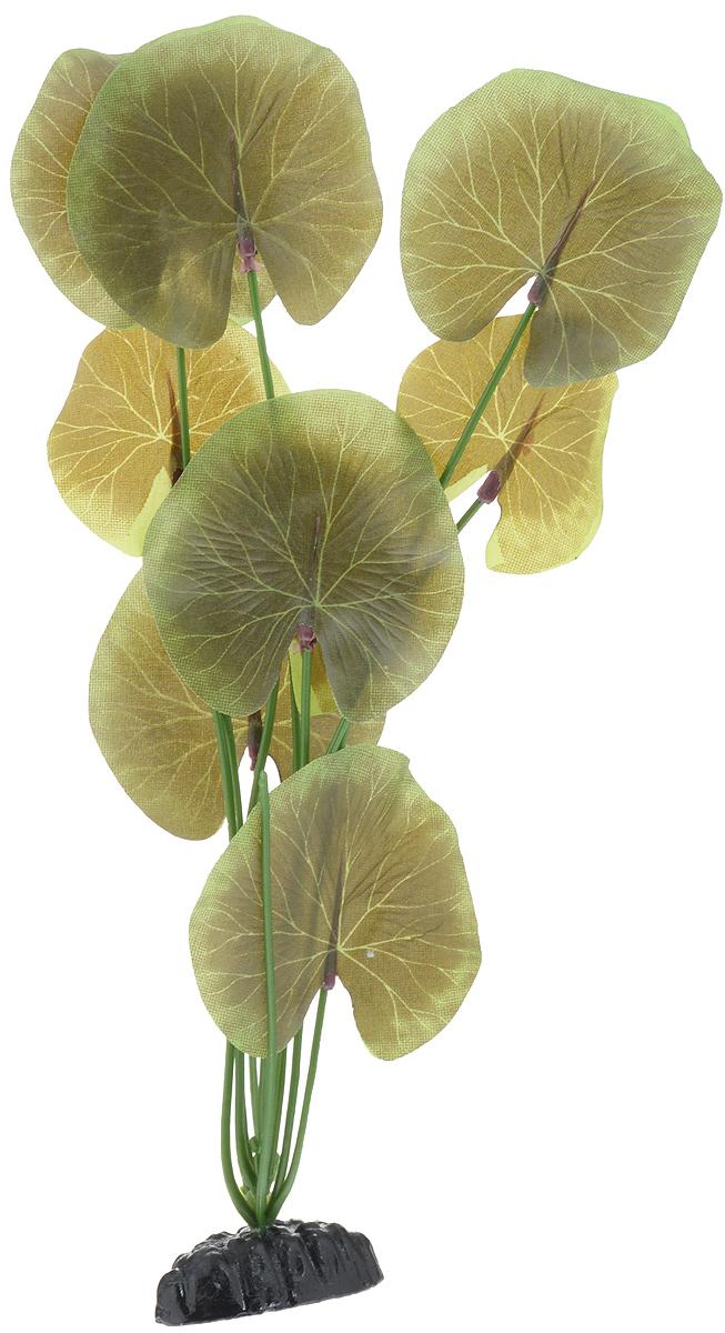 Растение для аквариума Barbus Лотос, шелковое, высота 30 смPlant 053/30Растение для аквариума Barbus Лотос, выполненное из качественного шелка, станет прекрасным украшением вашего аквариума. Шелковое растение идеально подходит для дизайна всех видов аквариумов. В воде происходит абсолютная имитация живых растений. Изделие не требует дополнительного ухода и просто в применении. Растение абсолютно безопасно, нейтрально к водному балансу, устойчиво к истиранию краски, подходит как для пресноводного, так и для морского аквариума. Растение для аквариума Barbus поможет вам смоделировать потрясающий пейзаж на дне вашего аквариума или террариума. Высота растения: 30 см.