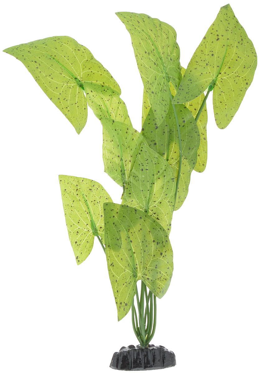 Растение для аквариума Barbus Нимфея пятнистая, шелковое, высота 30 смPlant 054/30Растение для аквариума Barbus Нимфея пятнистая, выполненное из качественного шелка, станет прекрасным украшением вашего аквариума. Шелковое растение идеально подходит для дизайна всех видов аквариумов. В воде происходит абсолютная имитация живых растений. Изделие не требует дополнительного ухода и просто в применении. Растение абсолютно безопасно, нейтрально к водному балансу, устойчиво к истиранию краски, подходит как для пресноводного, так и для морского аквариума. Растение для аквариума Barbus поможет вам смоделировать потрясающий пейзаж на дне вашего аквариума или террариума. Высота растения: 30 см.