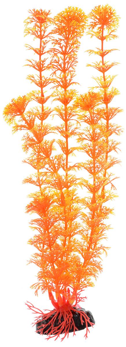Растение для аквариума Barbus Кабомба, пластиковое, цвет: оранжевый, высота 30 смPlant 021/30Растение для аквариума Barbus Кабомба, выполненное из качественного пластика, станет оригинальным украшением вашего аквариума. Пластиковое растение идеально подходит для дизайна всех видов аквариумов. Оно абсолютно безопасно, нейтрально к водному балансу, устойчиво к истиранию краски, подходит как для пресноводного, так и для морского аквариума. Растение для аквариума Barbus поможет вам смоделировать потрясающий пейзаж на дне вашего аквариума или террариума. Высота растения: 30 см.