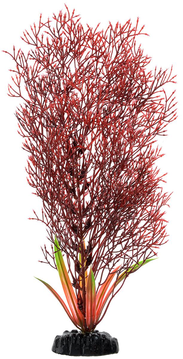 Растение для аквариума Barbus Горгонария, пластиковое, цвет: красный, высота 30 смPlant 032/30Растение для аквариума Barbus Горгонария, выполненное из качественного пластика, станет оригинальным украшением вашего аквариума. Пластиковое растение идеально подходит для дизайна всех видов аквариумов. Оно абсолютно безопасно, нейтрально к водному балансу, устойчиво к истиранию краски, подходит как для пресноводного, так и для морского аквариума. Растение для аквариума Barbus поможет вам смоделировать потрясающий пейзаж на дне вашего аквариума или террариума. Высота растения: 30 см.
