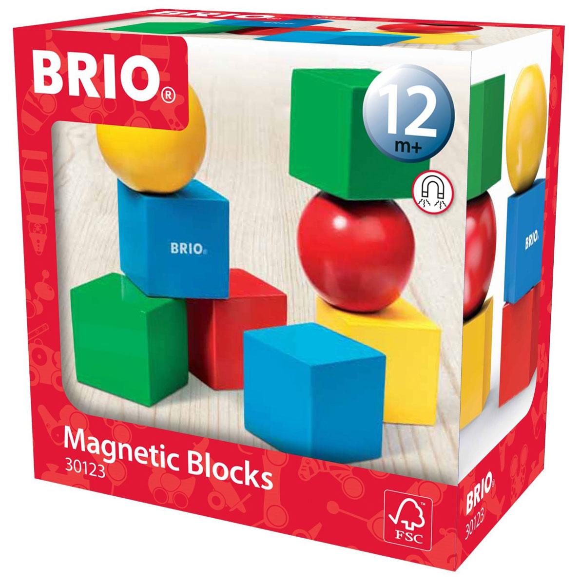 Brio Кубики на магнитах