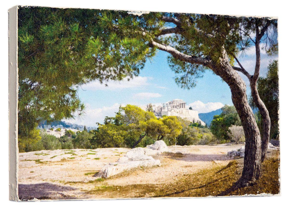 Картина Стильный красивый пейзаж, 14,5 х 22 см. 0199-15-22