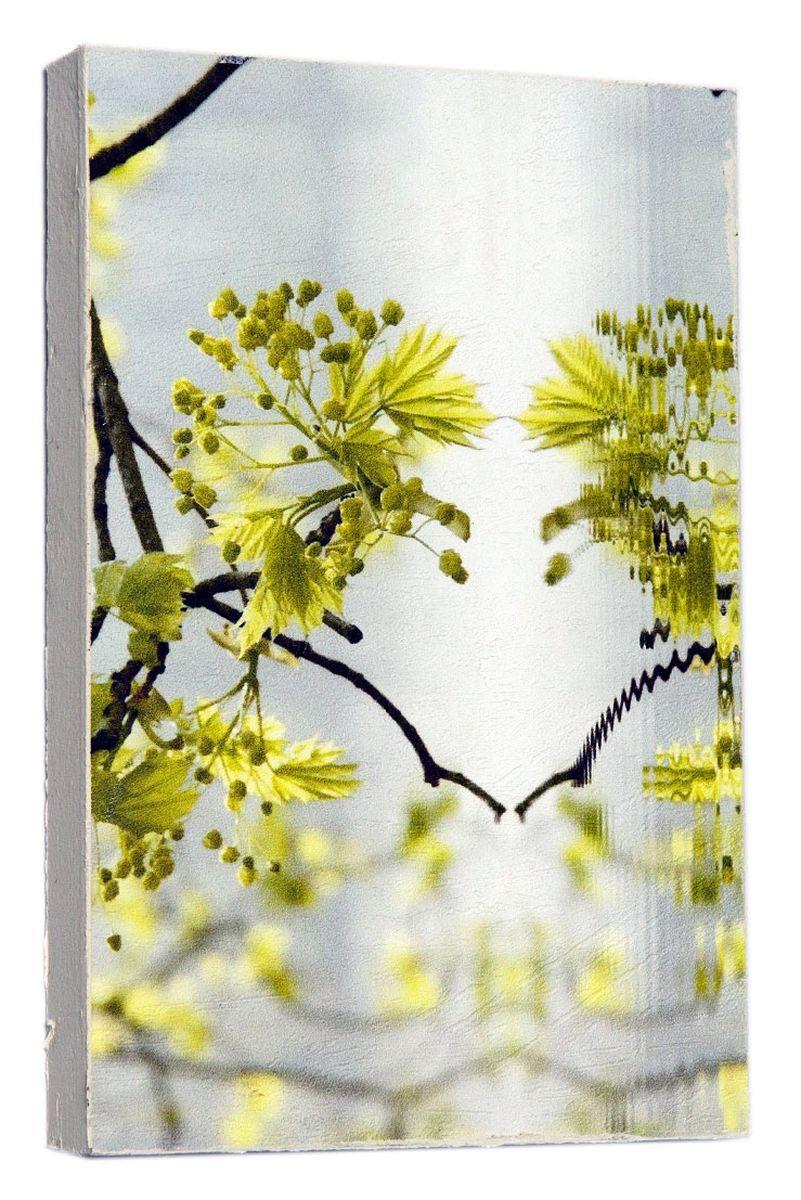 Картина Mister Poster Веточка в воде, 14,5 х 22 см0220-15-22Картина Mister Poster - это высококачественная репродукция на деревянной раме. Лицевая поверхность имитирует штукатурку или натуральный холст, края окрашены вручную специальным декоративным составом. Современные технологии, уникальное оборудование и оригинальные чернила, используемые при изготовлении, делают постер устойчивым к выцветанию, а также гарантируют стойкость к воздействию негативных внешних факторов. Интерьер дома и офиса, в котором находится человек, в значительной степени влияет на его настроение и работоспособность. Правильное оформление интерьера создает благоприятный психологический климат, улучшает настроение и мотивирует. Добавьте «красок» в ваш интерьер и, возможно, в вашу жизнь.