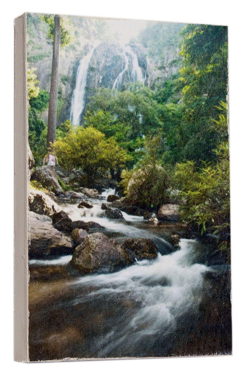 Картина Горный ручей, 14,5 х 22 см0237-15-22