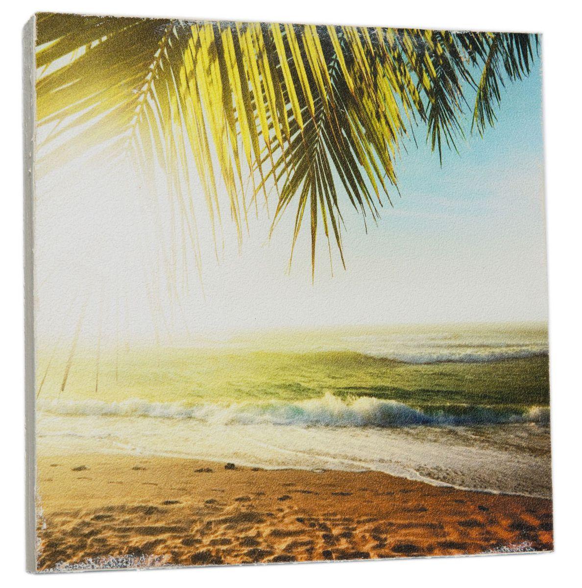 Картина Океан в солнечных лучах , 22 х 22 см0274-22-22