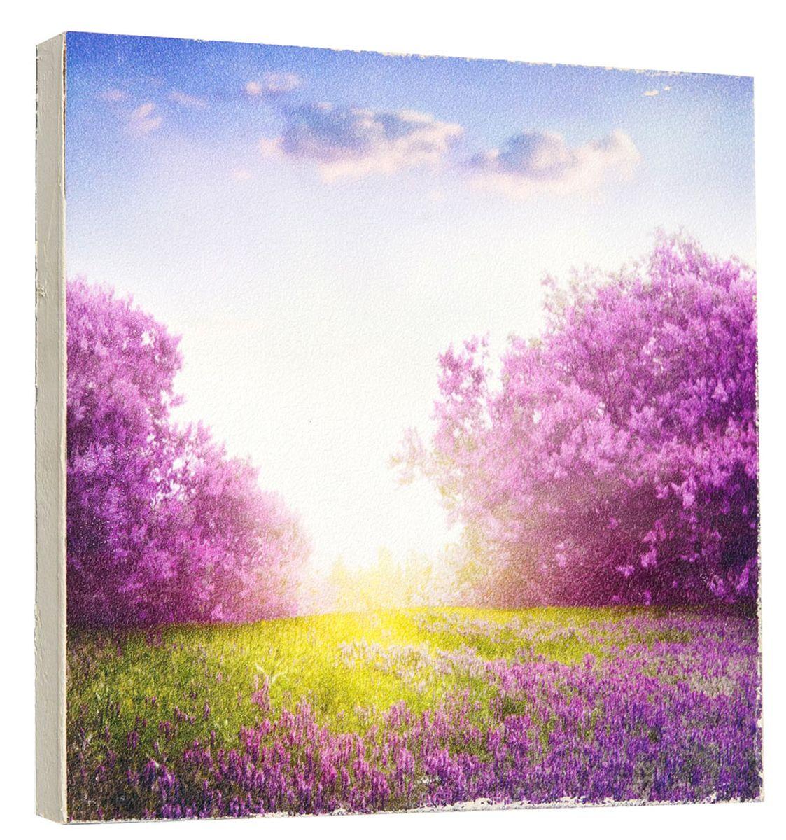 Картина Mister Poster Цветочные сады в солнечных лучах, 22 х 22 см0289-22-22