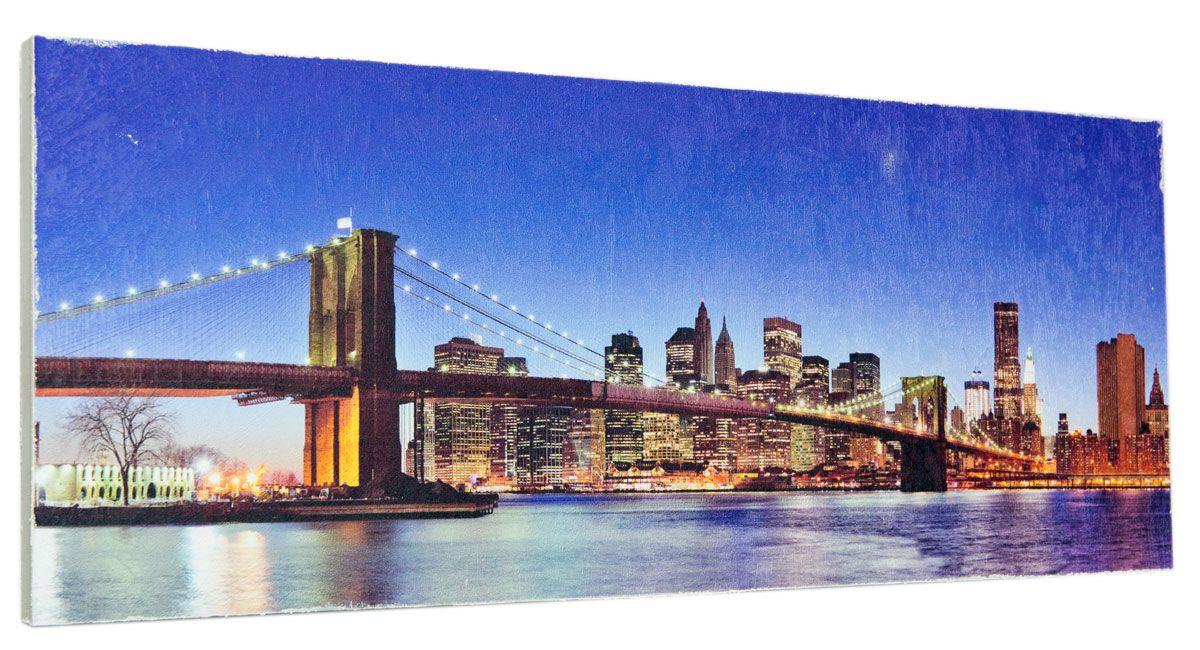 Картина Mister Poster Мост в Сан-Франциско, 60 х 24 см0327-24-60Картина Mister Poster - это высококачественная репродукция на деревянной раме. Лицевая поверхность имитирует штукатурку или натуральный холст, края окрашены вручную специальным декоративным составом. Современные технологии, уникальное оборудование и оригинальные чернила, используемые при изготовлении, делают постер устойчивым к выцветанию, а также гарантируют стойкость к воздействию негативных внешних факторов. Интерьер дома и офиса, в котором находится человек, в значительной степени влияет на его настроение и работоспособность. Правильное оформление интерьера создает благоприятный психологический климат, улучшает настроение и мотивирует. Добавьте «красок» в ваш интерьер и, возможно, в вашу жизнь.
