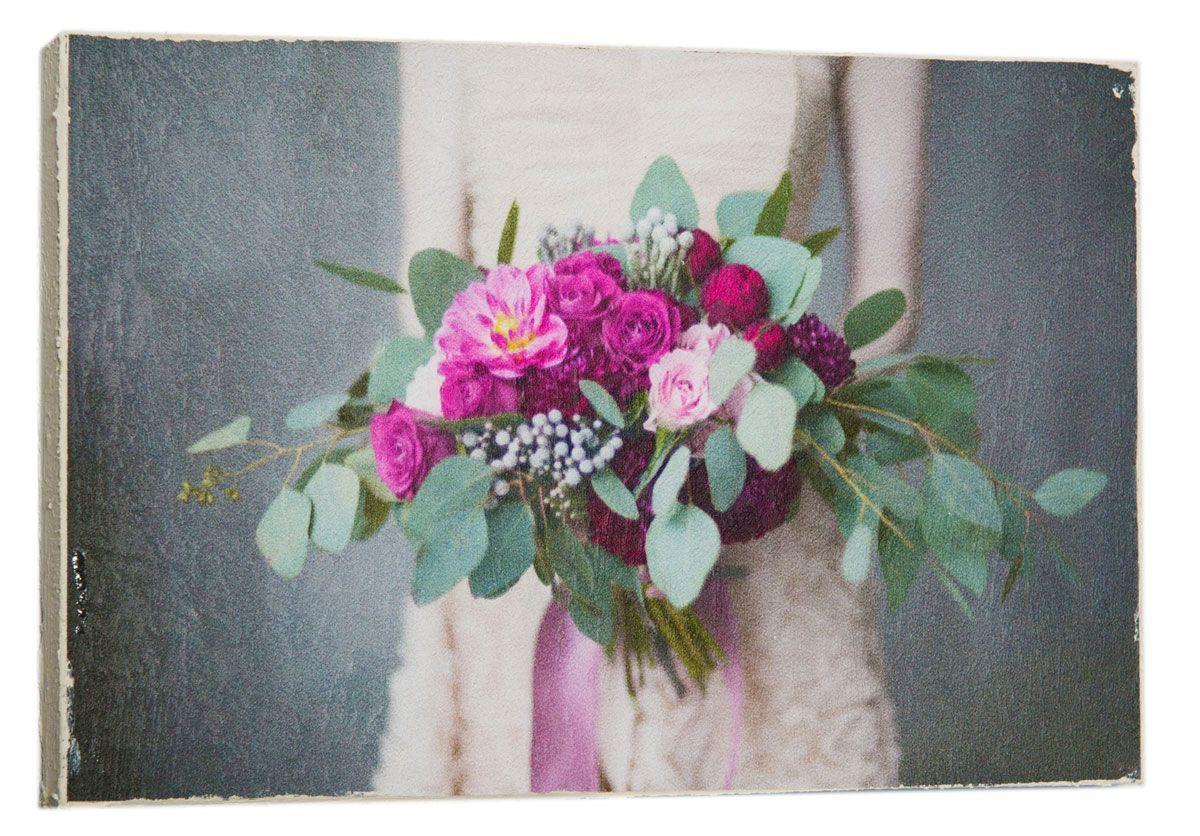 Картина Стильный букет цветов, 14,5 х 22 см0408-15-22