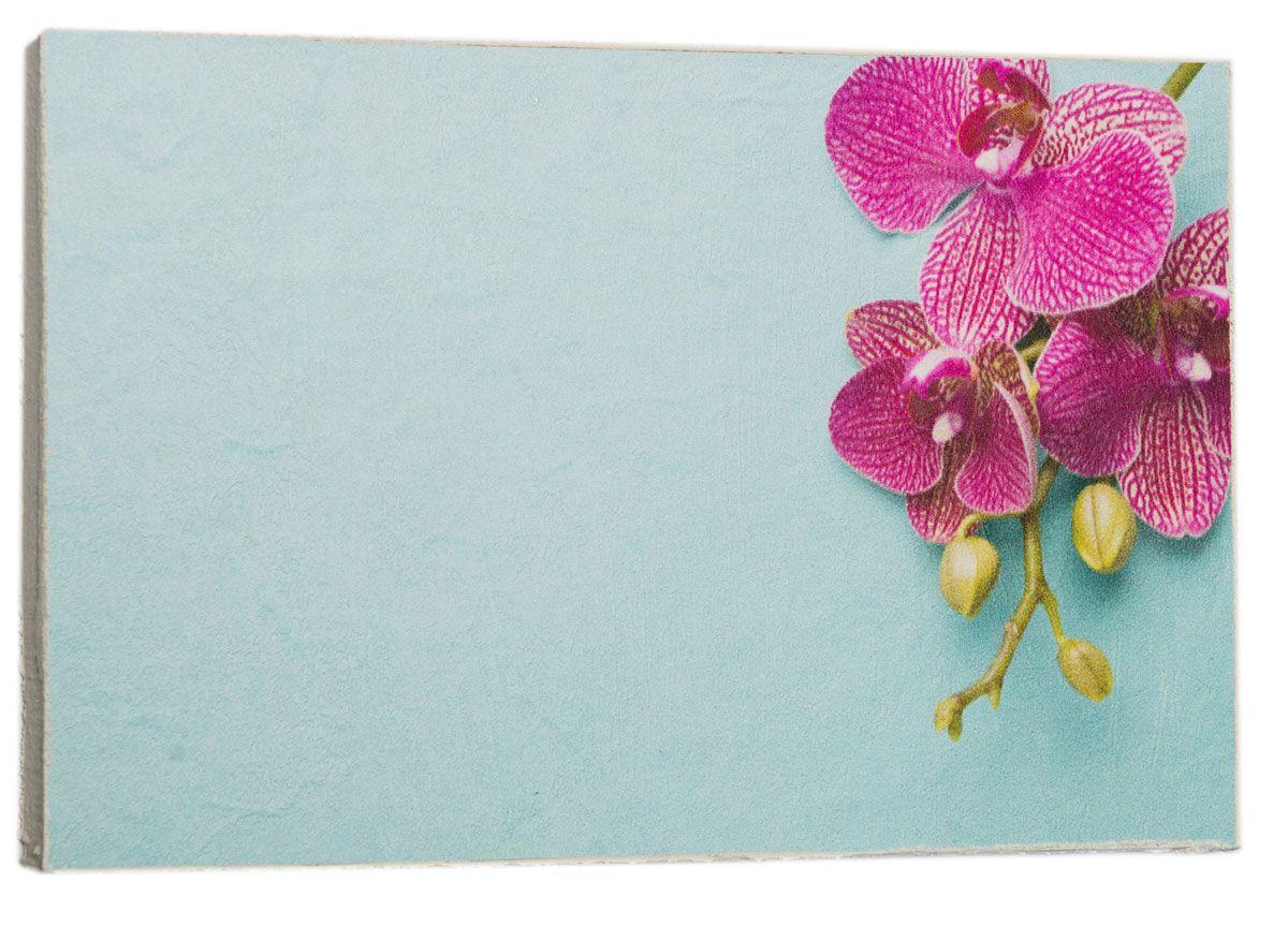 Картина Mister Poster Розовая орхидея на голубом фоне, 22 х 14,5 см0409-15-22Картина Mister Poster - это высококачественная репродукция на деревянной раме. Лицевая поверхность имитирует штукатурку или натуральный холст, края окрашены вручную специальным декоративным составом. Современные технологии, уникальное оборудование и оригинальные чернила, используемые при изготовлении, делают постер устойчивым к выцветанию, а также гарантируют стойкость к воздействию негативных внешних факторов. Интерьер дома и офиса, в котором находится человек, в значительной степени влияет на его настроение и работоспособность. Правильное оформление интерьера создает благоприятный психологический климат, улучшает настроение и мотивирует. Добавьте «красок» в ваш интерьер и, возможно, в вашу жизнь.