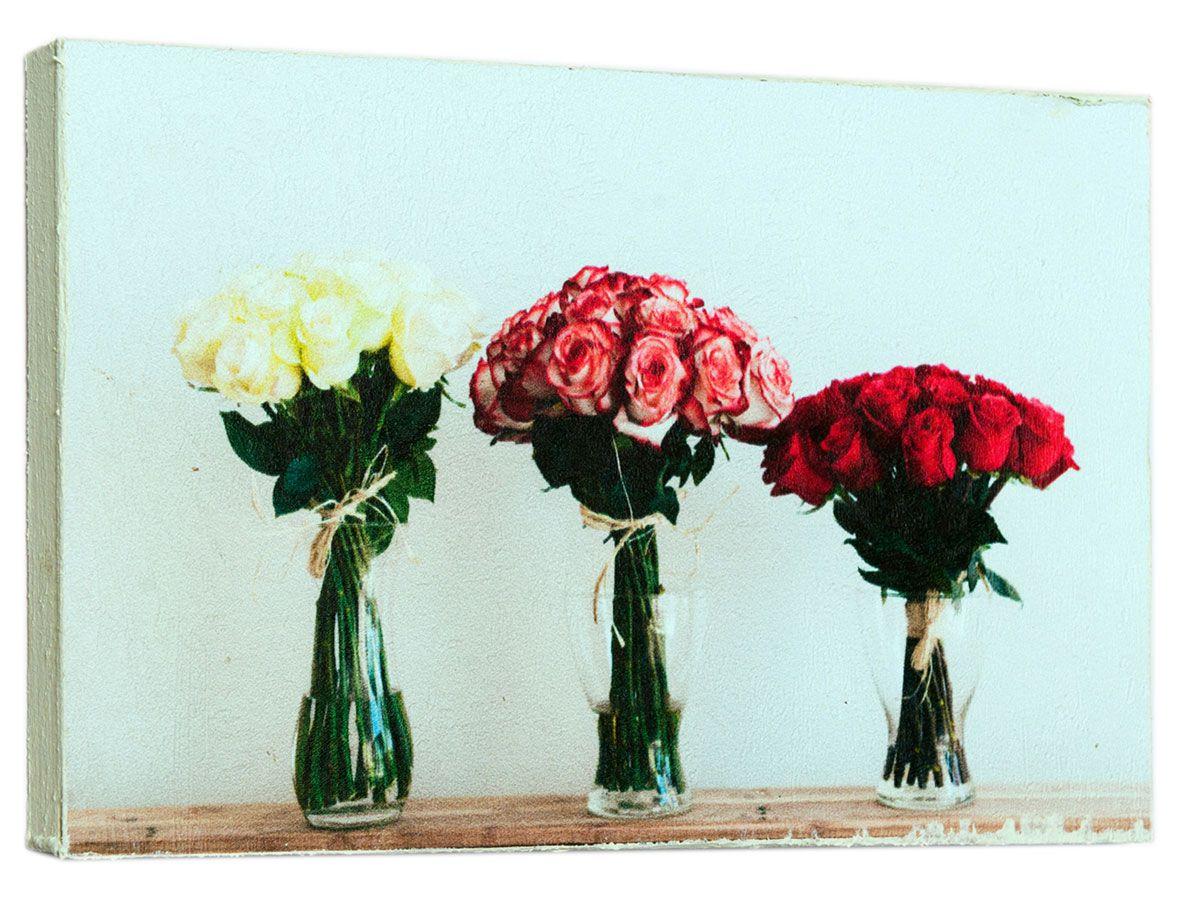 Картина Шикарные букеты роз, 14,5 х 22 см0437-15-22