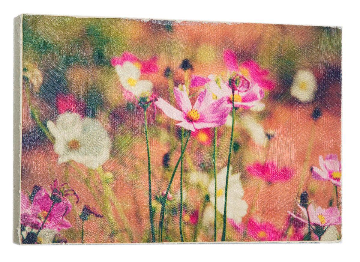 Картина Mister Poster Прекрасные розовые полевые цветы 3, 22 х 14,5 см0468-15-22Картина Mister Poster - это высококачественная репродукция на деревянной раме. Лицевая поверхность имитирует штукатурку или натуральный холст, края окрашены вручную специальным декоративным составом. Современные технологии, уникальное оборудование и оригинальные чернила, используемые при изготовлении, делают постер устойчивым к выцветанию, а также гарантируют стойкость к воздействию негативных внешних факторов. Интерьер дома и офиса, в котором находится человек, в значительной степени влияет на его настроение и работоспособность. Правильное оформление интерьера создает благоприятный психологический климат, улучшает настроение и мотивирует. Добавьте «красок» в ваш интерьер и, возможно, в вашу жизнь.
