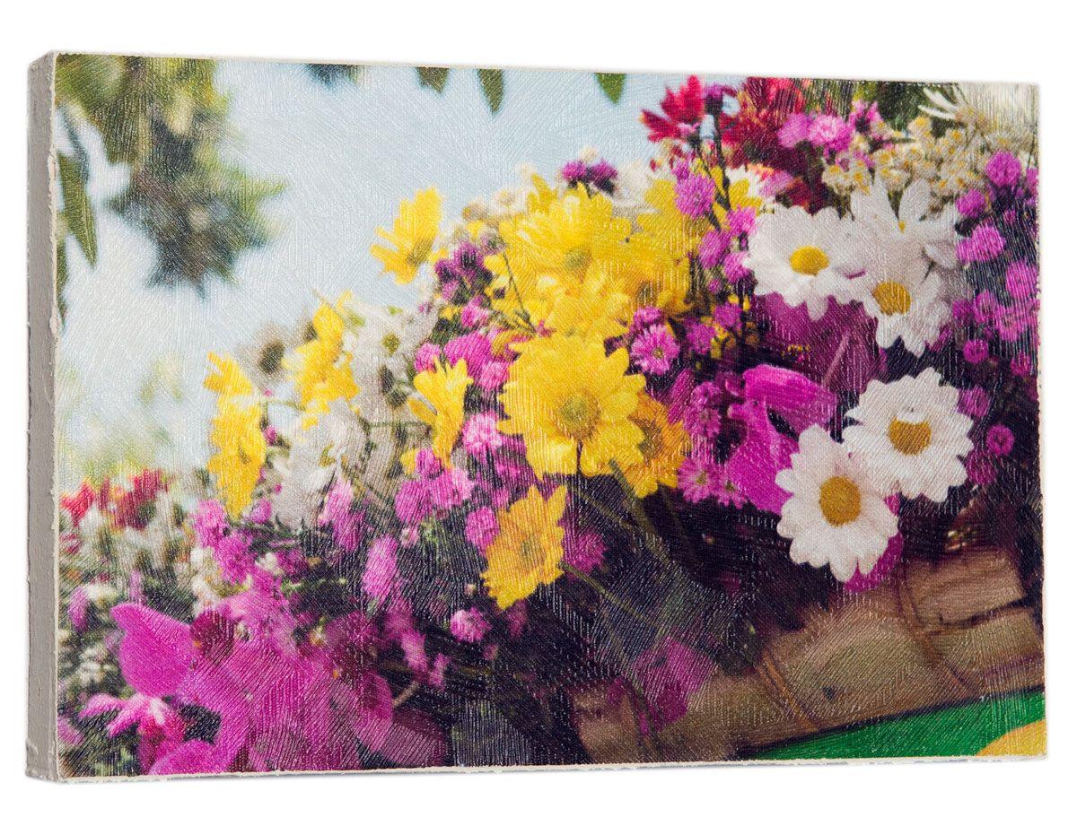 Картина Mister Poster Разноцветные цветочки в горшках , 22 х 14,5 см0469-15-22Картина Mister Poster - это высококачественная репродукция на деревянной раме. Лицевая поверхность имитирует штукатурку или натуральный холст, края окрашены вручную специальным декоративным составом. Современные технологии, уникальное оборудование и оригинальные чернила, используемые при изготовлении, делают постер устойчивым к выцветанию, а также гарантируют стойкость к воздействию негативных внешних факторов. Интерьер дома и офиса, в котором находится человек, в значительной степени влияет на его настроение и работоспособность. Правильное оформление интерьера создает благоприятный психологический климат, улучшает настроение и мотивирует. Добавьте «красок» в ваш интерьер и, возможно, в вашу жизнь.