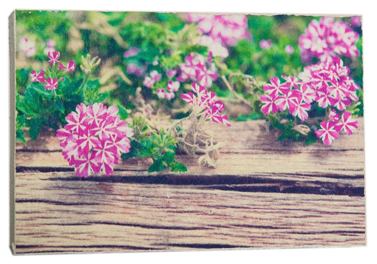 Картина Простые милые цветочки, 14,5 х 22 см