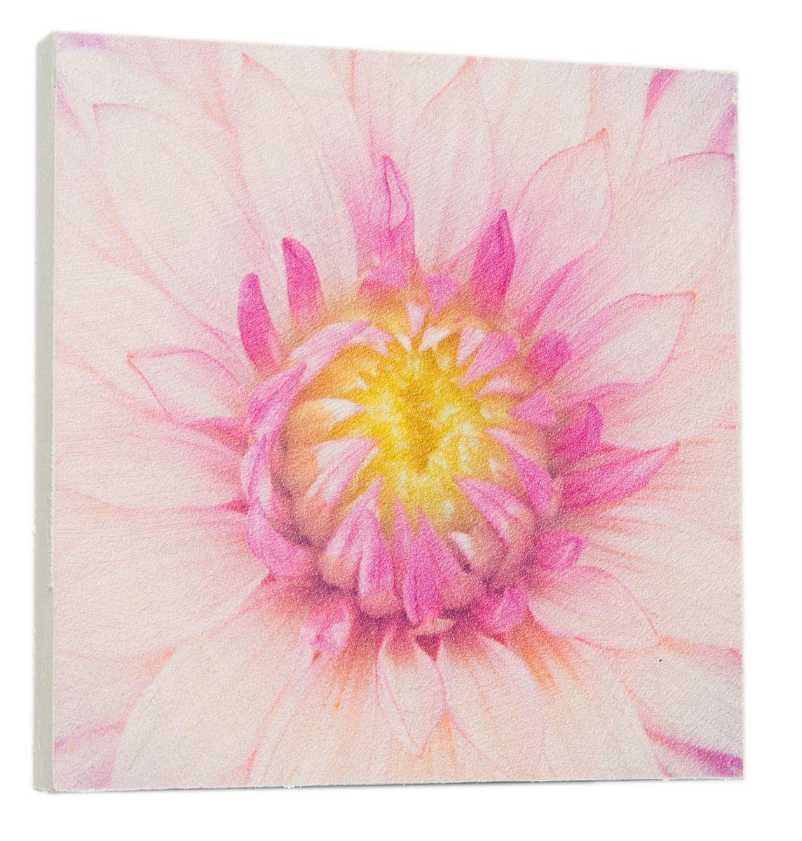 Картина Розовый лотос, 22 х 22 см0538-22-22