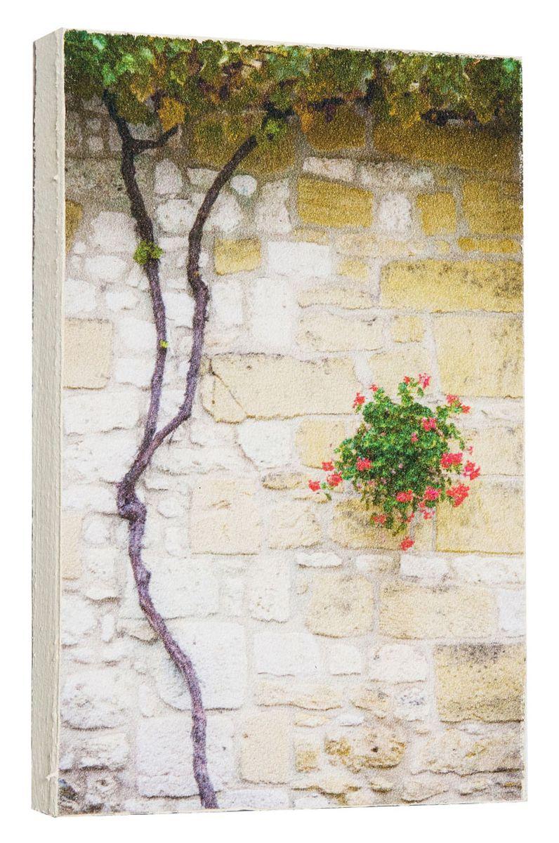 Картина Mister Poster Каменная стена с цветущим деревом, 14,5 х 22 см0739-15-22Картина Mister Poster - это высококачественная репродукция на деревянной раме. Лицевая поверхность имитирует штукатурку или натуральный холст, края окрашены вручную специальным декоративным составом. Современные технологии, уникальное оборудование и оригинальные чернила, используемые при изготовлении, делают постер устойчивым к выцветанию, а также гарантируют стойкость к воздействию негативных внешних факторов. Интерьер дома и офиса, в котором находится человек, в значительной степени влияет на его настроение и работоспособность. Правильное оформление интерьера создает благоприятный психологический климат, улучшает настроение и мотивирует. Добавьте «красок» в ваш интерьер и, возможно, в вашу жизнь.
