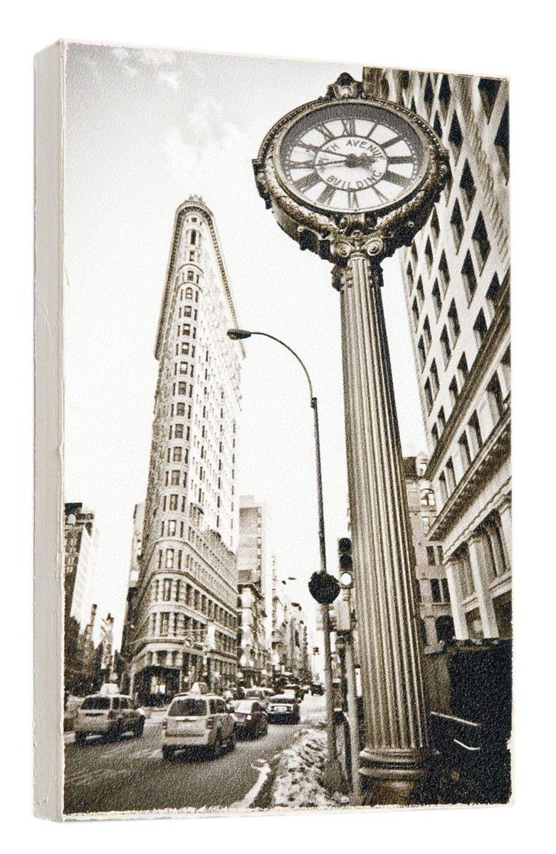 Картина Уличные часы в Лондоне, 14,5 х 22 см