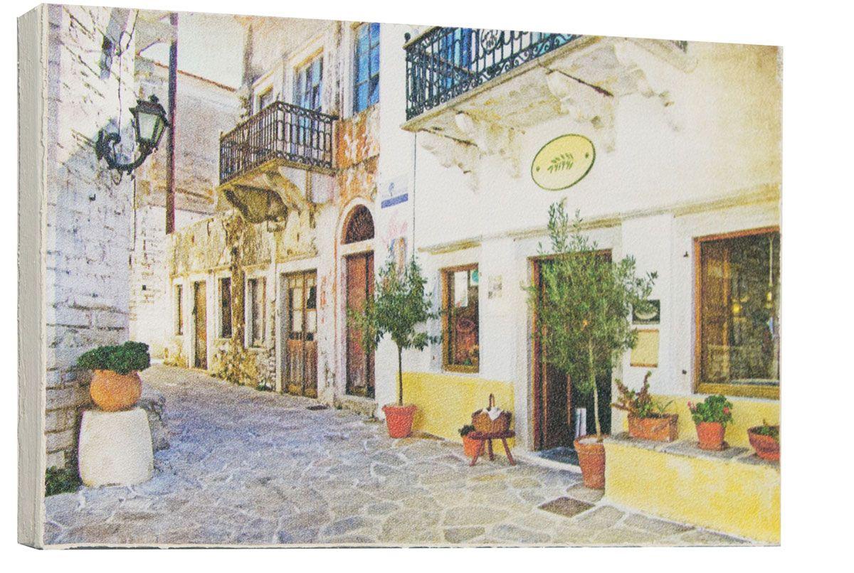 Картина Красивые старинные улочки Италии, 14,5 х 22 см
