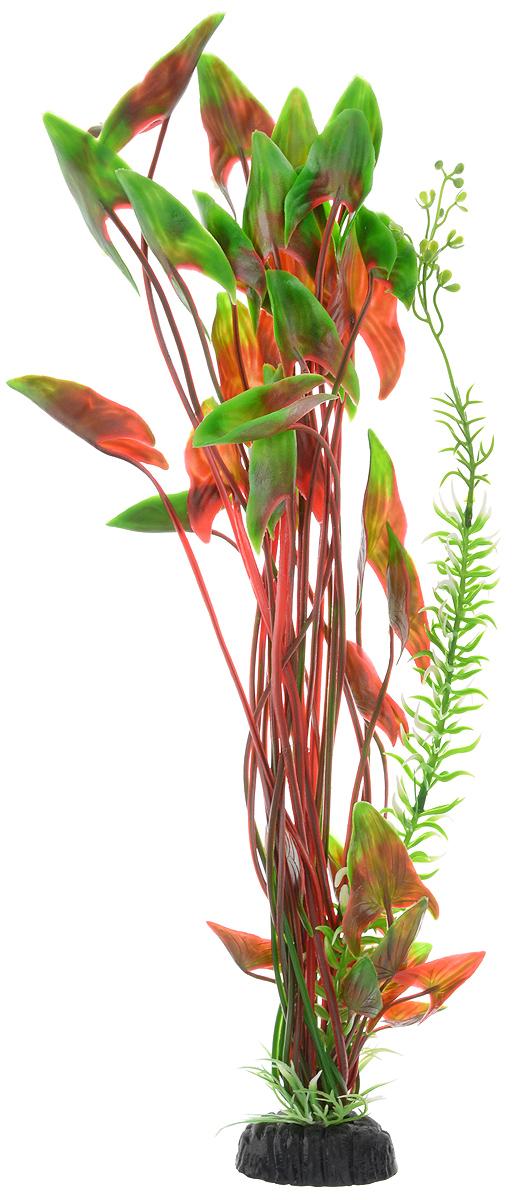 Растение для аквариума Barbus Водная калла, пластиковое, высота 50 смPlant 008/50Растение для аквариума Barbus Водная калла, выполненное из качественного пластика, станет прекрасным украшением вашего аквариума. Пластиковое растение идеально подходит для дизайна всех видов аквариумов. Оно абсолютно безопасно, нейтрально к водному балансу, устойчиво к истиранию краски, подходит как для пресноводного, так и для морского аквариума. Растение для аквариума Barbus поможет вам смоделировать потрясающий пейзаж на дне вашего аквариума или террариума. Высота растения: 50 см.