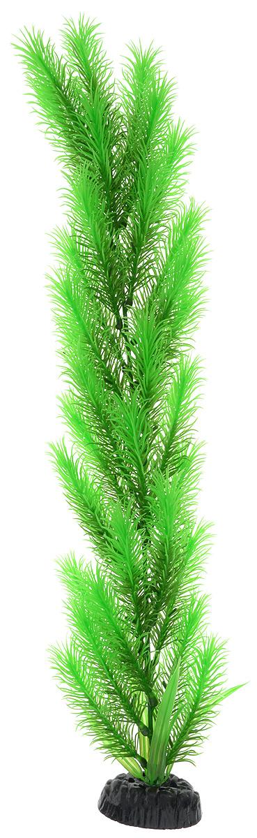 """Растение для аквариума Barbus """"Перистолистник зеленый"""", пластиковое, высота 50 см"""