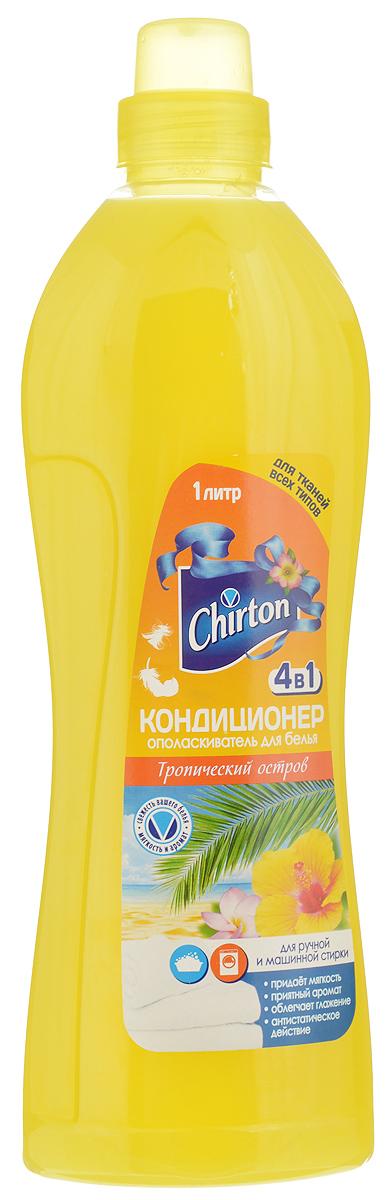 """Кондиционер-ополаскиватель для белья Chirton """"Тропический остров"""", 1 л"""