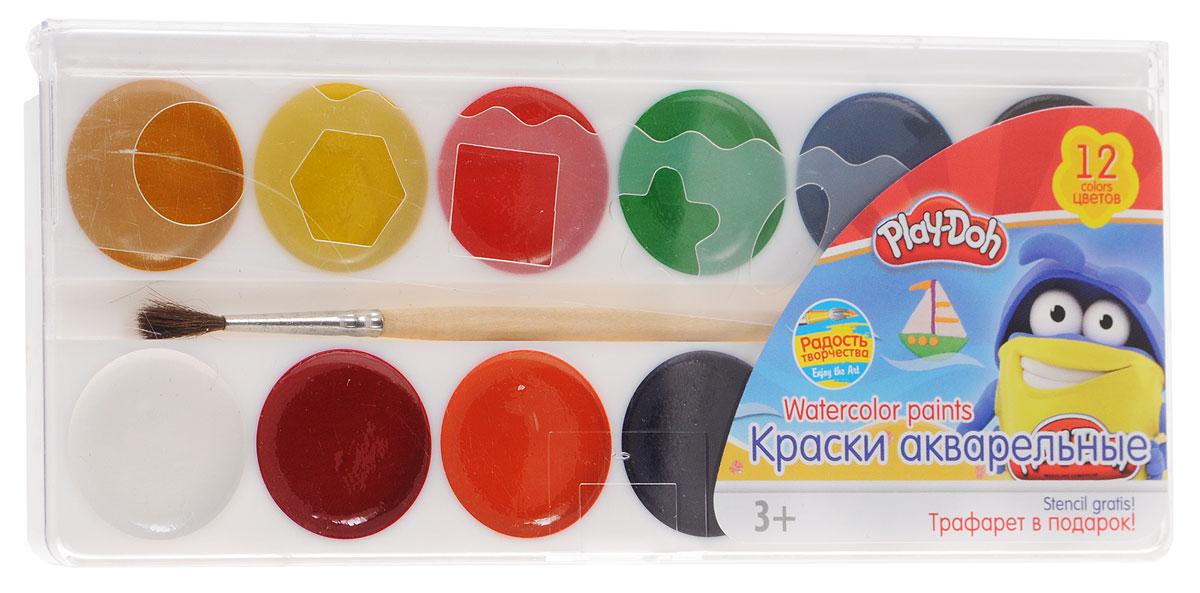 Play-Doh Краски акварельные 12 цветов