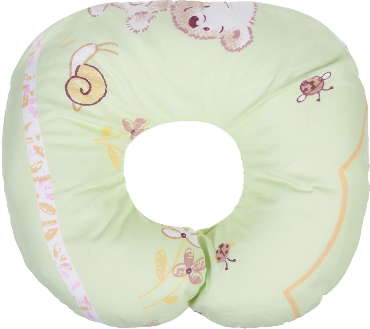 Selby Подушка-воротник для младенца Мишки и улитка 30 см х 25 см5582_мишки, улиткаДетская подушка-воротник Selby Мишки и улитка изготовлена из мягкого натурального хлопка с наполнителем из пенополистирола. Подушка удобна и комфортна. Она поддерживает головку ребенка во время сна, отдыха или купания. Благодаря такой подушке при купании руки у мамы свободны, поэтому можно без труда помыть ребенка, пока он плавает. Подушка фиксируется вокруг шеи. Изделие также идеально подходит для длительных поездок в самолете, машине, коляске или автокресле. Подушка имеет съемный чехол на застежке-молнии. Уход: машинная стирка (40 °C) и деликатный отжим.