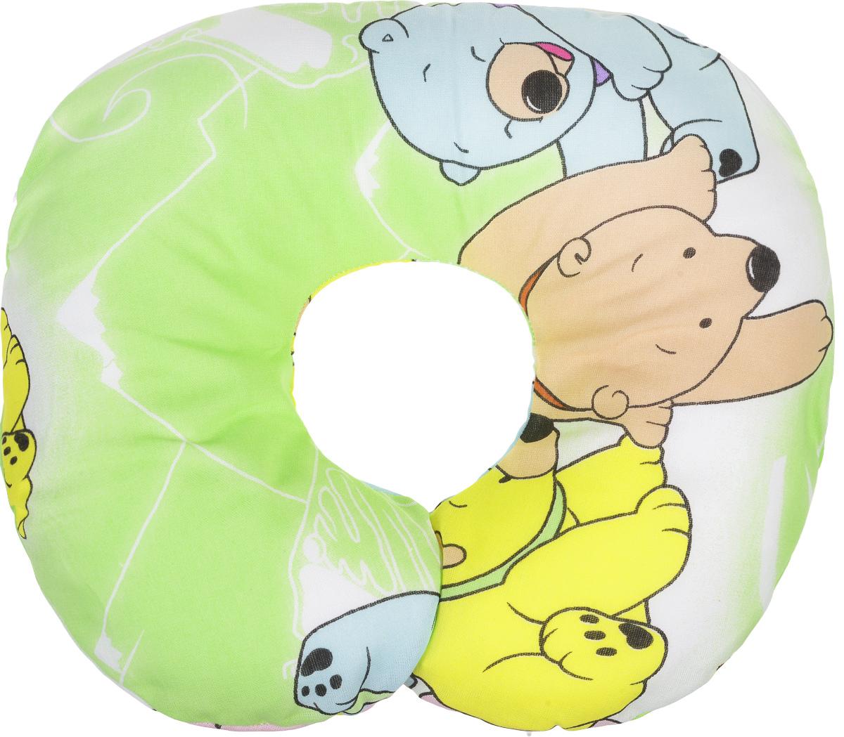 Selby Подушка-воротник для младенца Мишки и мороженое 30 см х 25 см