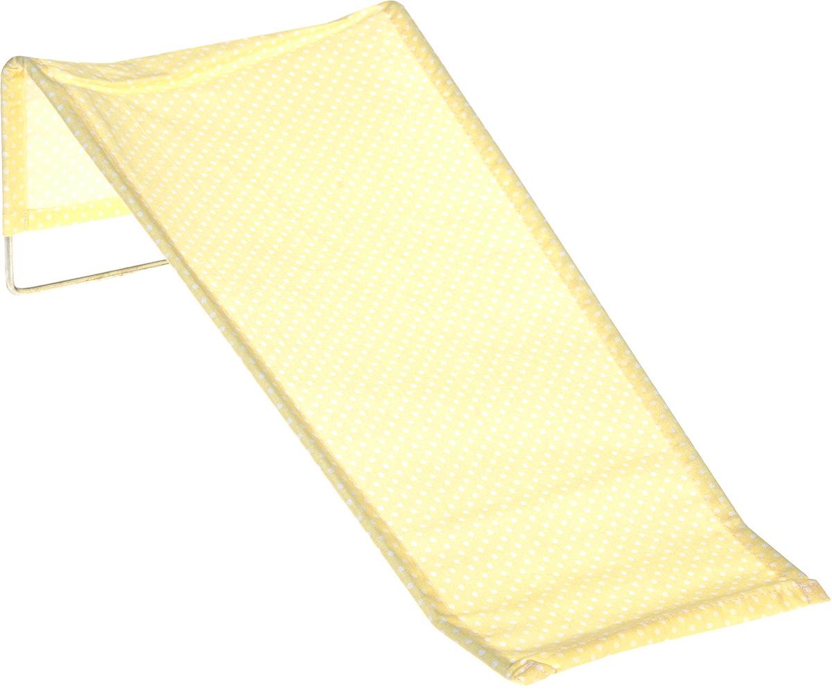Фея Подставка для купания Бязь в горошек цвет бежевый1332-01_горошекПодставка для купания Фея - это удобный способ мытья и прекрасная возможность побаловать вашего малыша. Эргономичный дизайн подставки разработан специально для комфорта и безопасности вашего ребенка. Основу подставки составляет металлический каркас, обтянутый тканью. Подарите своему малышу радость и комфорт во время купания! Подставка предназначена для купания детей в возрасте до 1 года. Фея - это качественные и надежные товары для малышей, которые может позволить себе каждая семья! Правила ухода за чехлом: после использования хорошо просушить. Запрещается использование моющих средств, содержащих щелочь.