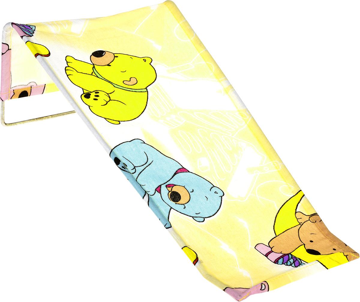 Фея Подставка для купания Мишки цвет желтый
