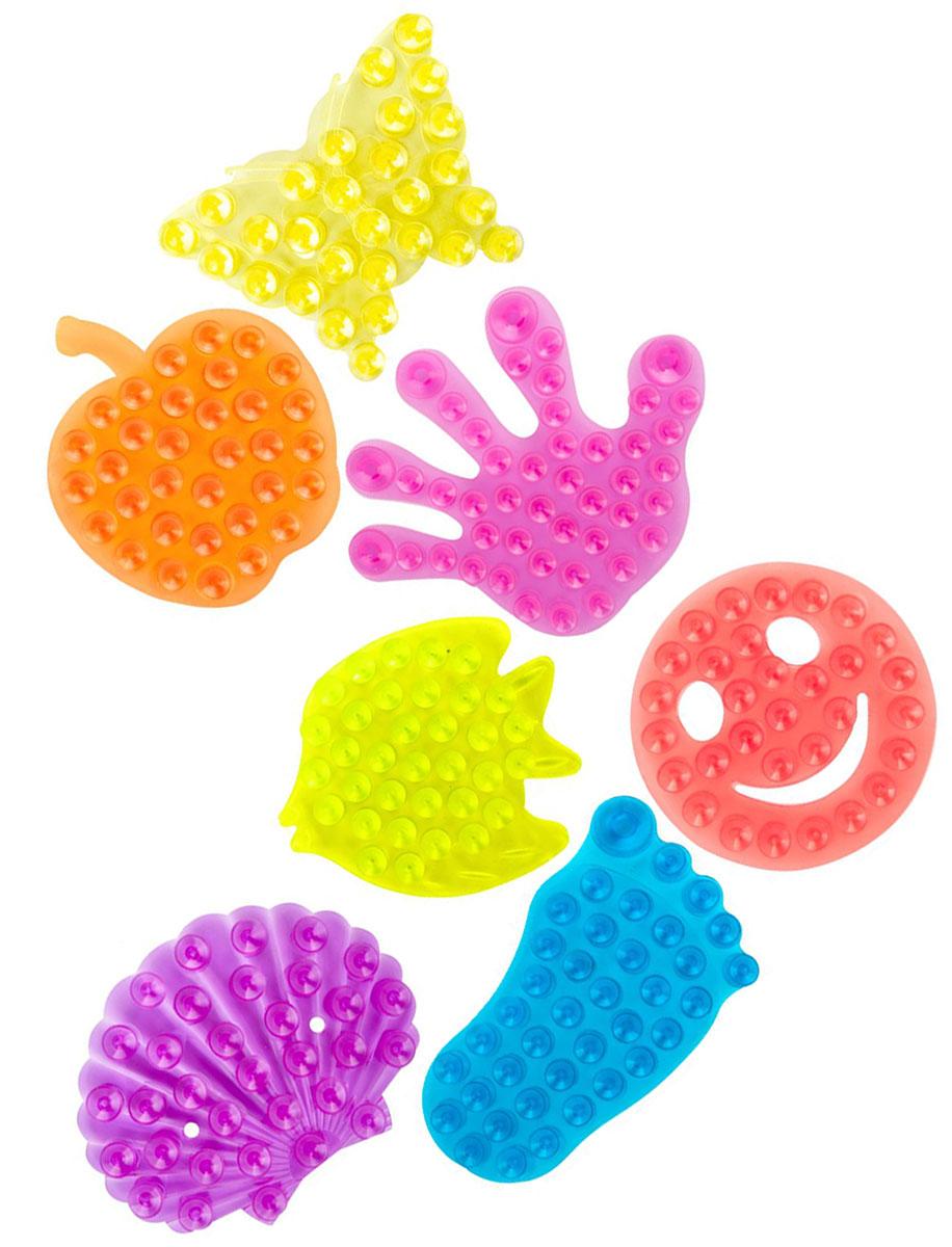 Valiant Полка-липучка для ванной на присосках 7 штKDS-MIX7S1Полка-липучка Valiant - оригинальный и яркий аксессуар для ванной комнаты. Она имеет двусторонние присоски, легко и надежно крепится к любой гладкой поверхности. Благодаря присоскам полка-липучка удерживает различные предметы: шампуни, гели, мыло и так далее. Липучка станет ярким цветовым пятном на поверхности ванны, кафельной стены или в душевой кабине. В упаковке 7 полок-липучек.